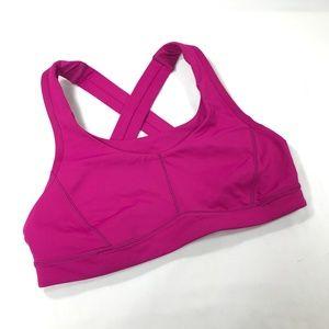 Lululemon Pink Sports Bra - EUC